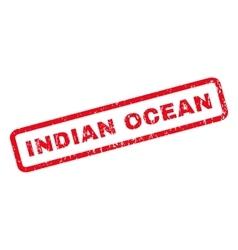 Indian Ocean Rubber Stamp vector