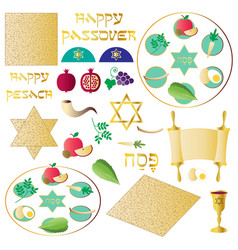 passover seder clipart vector image
