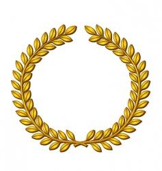 Wreath laurels vector