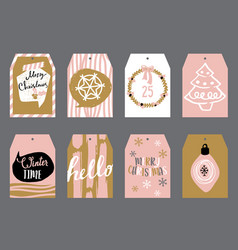 tags for gifts vector image vector image