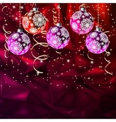 Merry Christmas Elegant Suggestive EPS 8 vector image
