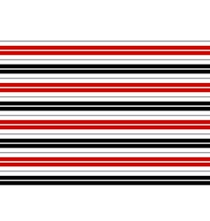 Red Black White Gray Stripes Background vector image vector image