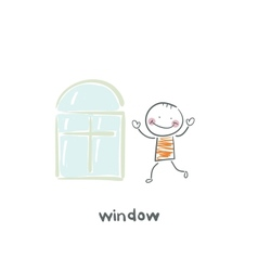 window vector image vector image