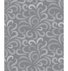 Swirl shape pattern seamless two tone vector image