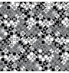 pixelated ornament vector image