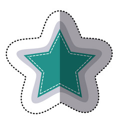 Color sticker star shape frame callout dialogue vector