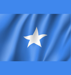 Flag federal republic of somalia vector