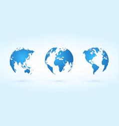 globe koncept vector image