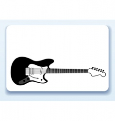 music business card vector image