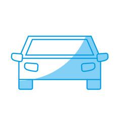 Pictogram car icon vector