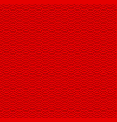 red traditional chinese pattern vector image