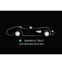 showroom car vector image
