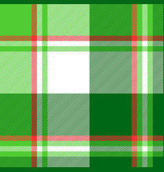 Summer color green check plaid seamless pattern vector