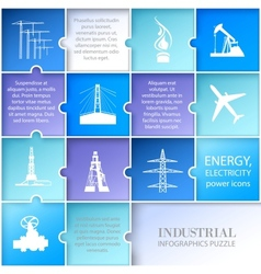 Flat layout infographic design vector image