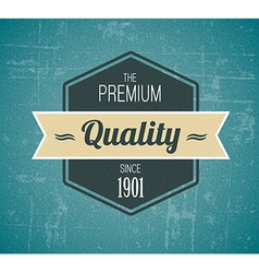 Old dark retro vintage grunge label vector image vector image