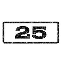 25 watermark stamp vector