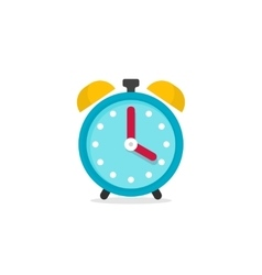 Alarm clock icon isolated on vector image