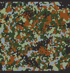 belgian flectarn camouflage seamless patterns vector image