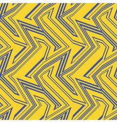 blue and gold city stripes vector image