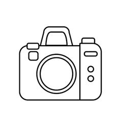 Camera icon Gadget design graphic vector image