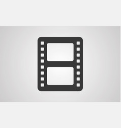 film icon sign symbol vector image