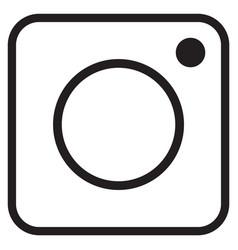 instagram logo vector image