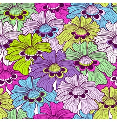 motley pattern vector image