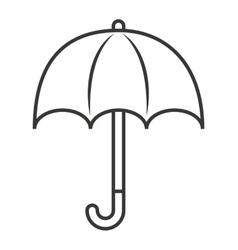 umbrella isolated icon design vector image