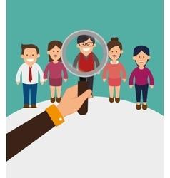 Business teamwork graphic vector