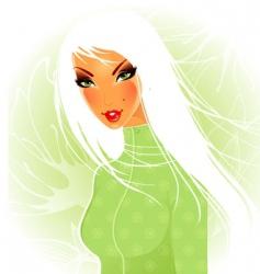 women nature vector image vector image