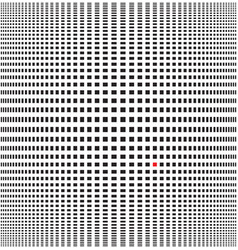 optical black and white background vector image