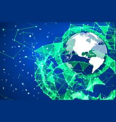 Telecommunication broadcast concept vector