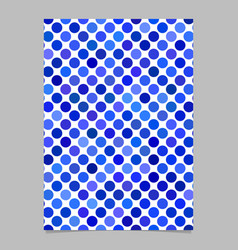 Abstract circle pattern background poster template vector