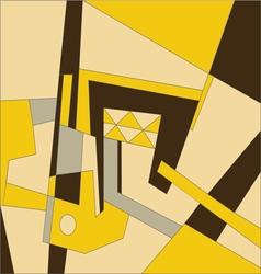 Abstract modern composition vector