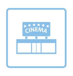 Cinema entrance icon vector