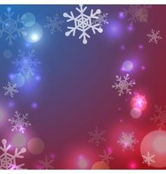 Greeting christmas frame vector image