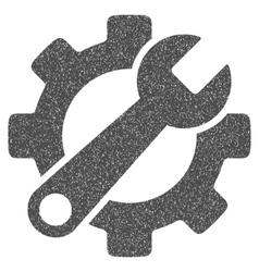 Service Tools Grainy Texture Icon vector