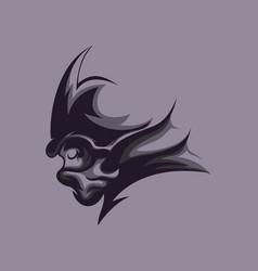 shadow warrior vector image