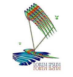 Surfing Logo2 vector image