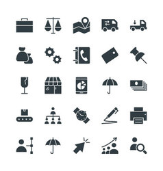 Trade Cool Icons 2 vector