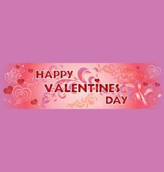 valentins day background 9 vector image