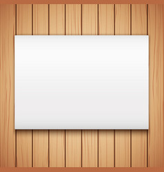 Wood plank texture with empty mockup vector
