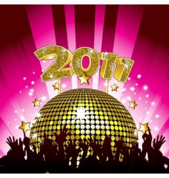 2011 party vector image vector image