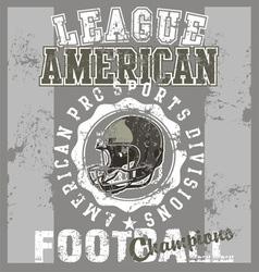 League american football vector image