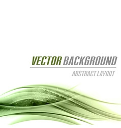 Background green bottom vector
