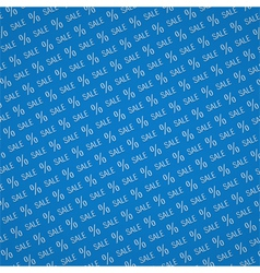 Blue Sale Background vector image