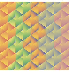 Geometric pattern with colorful rectangles vector