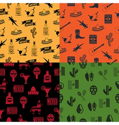 Mexican patterns vector