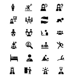 People Icons 3 vector