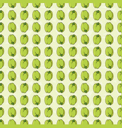 seamless pattern with pepper vector image